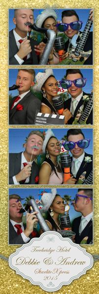 Gold-customised-photo-booth-print